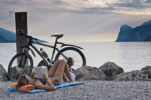 Mountain Bike u jezera Lago di Garda