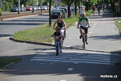 Přechod na cyklostezce