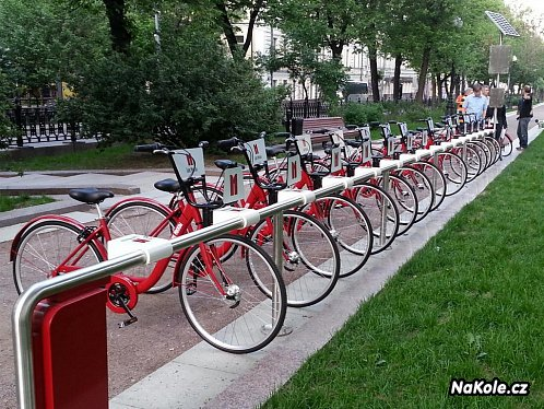 Bike Sharing System Homeport Moskva