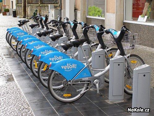 Bike Sharing System – veřejná kola pro každého