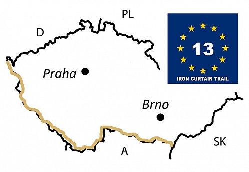 Greenways v ČR – Stezka železné opony (EuroVelo 13)