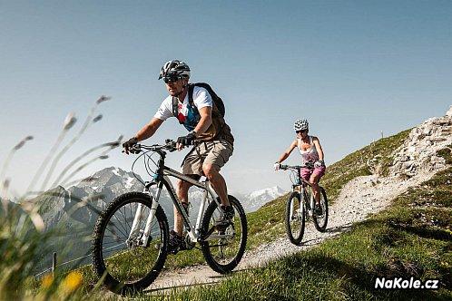 Tyrolskem na horském kole