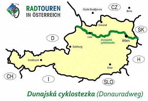 Dunajská cyklostezka – opravdová cyklodálnice uprostřed Evropy