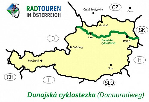 Dunajska Cyklostezka Opravdova Cyklodalnice Uprostred Evropy