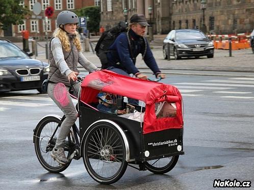 Přeprava dětí na kole – sedačky, vozíky nebo nákladní kola?