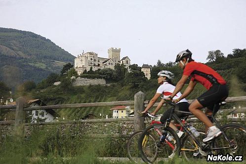 Cyklistické stezky pro požitkáře v Jižním Tyrolsku