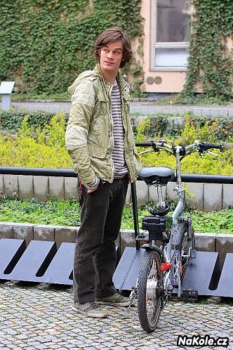 David Kraus: Oblékám raději kolo než sebe