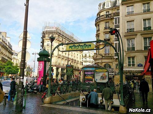 Nechcete v Paříži zabloudit? Držte se metra!