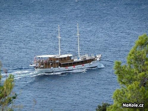 Dovolená na lodi a na kole nebo relax po ostrovech Dalmácie