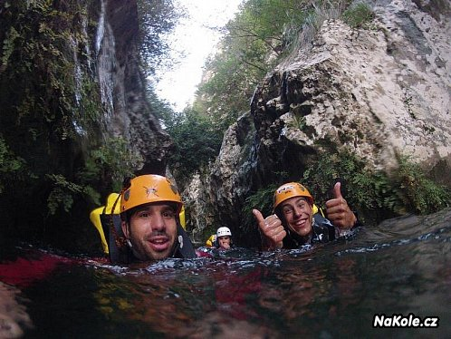 Canyoning na Malorce